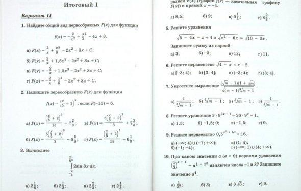 Тесты. 10-11 классы Алтынов