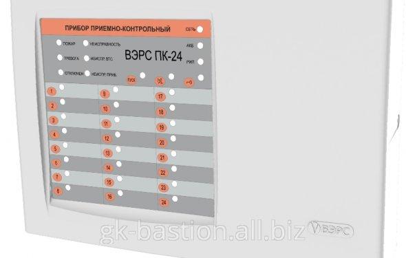 Контрольная панель 24 зоны ПКП