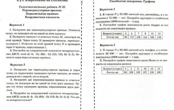 Иллюстрации к Математика. 6